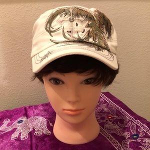 New Bling Cadet Cap Baseball Hat with Cross Design